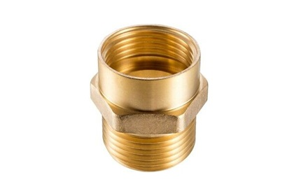 Darley Male Brass Hex Hose Adapter