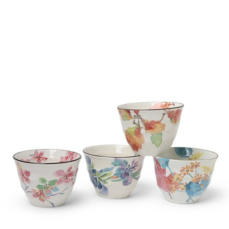 Floral Spring 7 Oz. Teacup Set