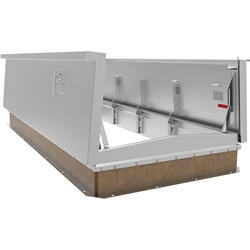 Aluminum Double Leaf Equipment Hatch