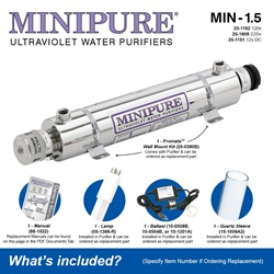 MINIPURE® MIN-1.5 What's Included