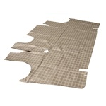 66-70 Falcon 4 Door Trunk Mat (Plaid)