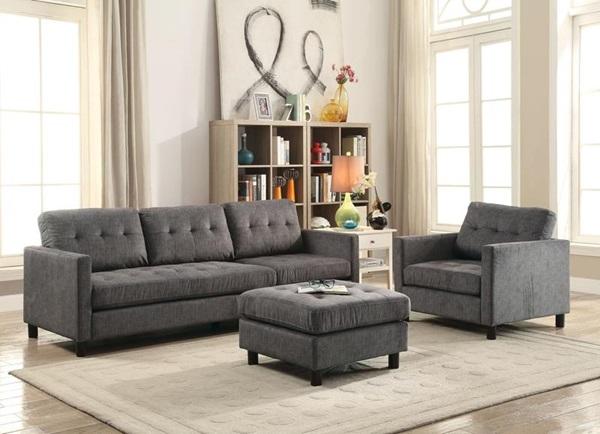 huge discount e4730 a5b35 Acme Furniture - 53315 CAESAR SOFA & CHAIR SET