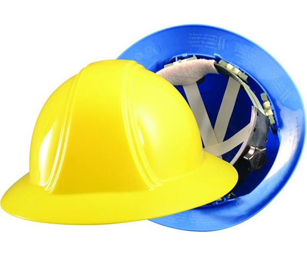 Full Brim Hard Hat (Ratchet Suspension)