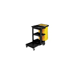 Janitor Cart 2000 Black
