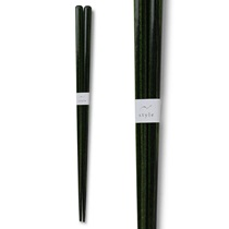 Chopsticks Wood Dark Green