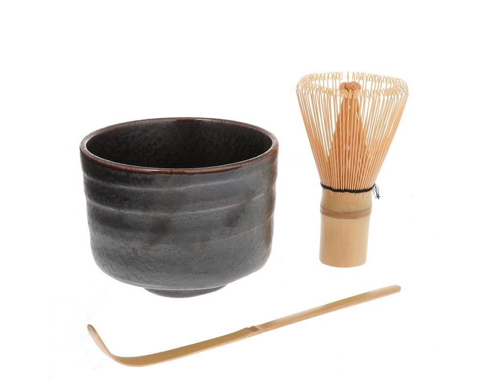 Matcha Set Peacock Sepia