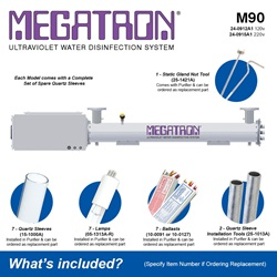 Megatron Automatic M90 - Included Accessories