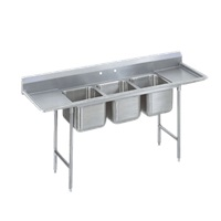 Advance Tabco 93-3-54-18RL Regaline Sink 3-Compartment