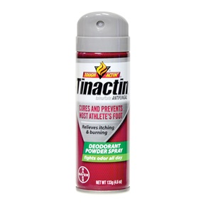 Tinactin® Athlete's Foot Deodorant Powder Spray