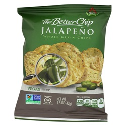 WHOLE GRAIN JALAPENO CHIPS