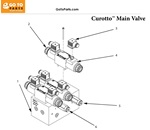Curotto Can Main Valve Assembly