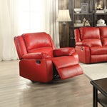 52152 RED ROCKER RECLINER