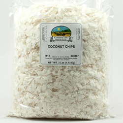 Coconut, Chips (3lb Bag)