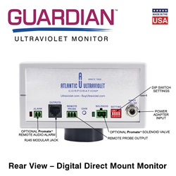 Rear view - Digital Direct Mount Monitor