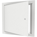 Medium Security Access Door with Flange, Steel