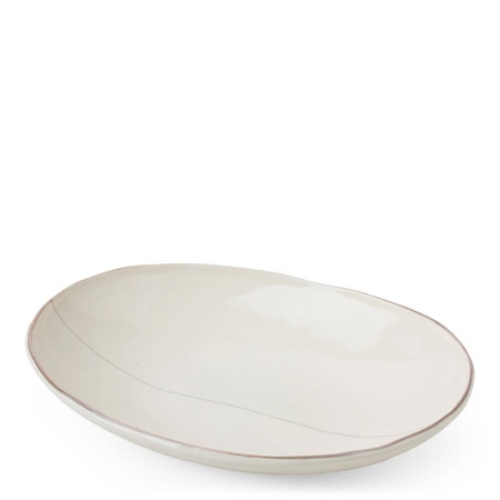 "Shiratama 9.5"" X 7"" Oval Bowl"