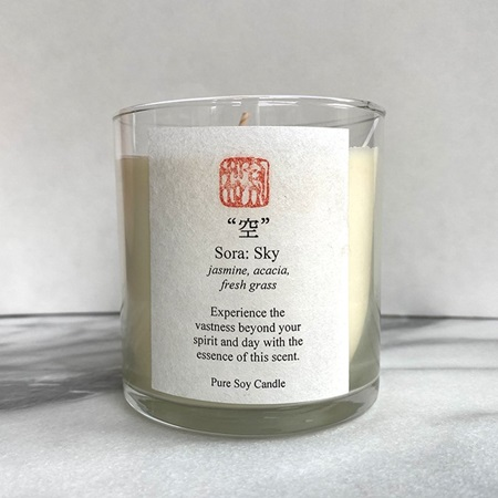 Five Elements Scented Candle - Sky