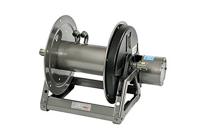 "Hannay 2000 Series Electric Hose Reel | Dual Feed 1/4""-1/2"" ID Hoses"