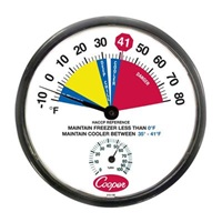 Cooper Cooler/Freezer Thermometer