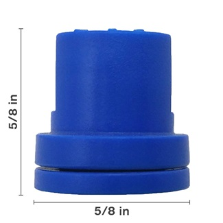 Blue Hollow Cone Ceramic Nozzle