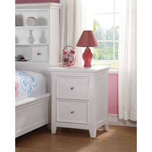 30599 WHITE NIGHTSTAND