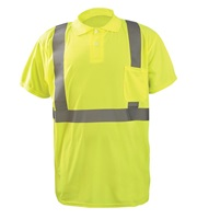 Wicking & Cooling Birdseye Polo Short Sleeve T-Shirt