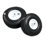 "MTM Hydro 10"" Foam Filled No-Flat Wheel - 3/4"" Metal Bearing"
