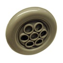 "JET INTERNAL: 3-1/2"" MASSAGE JET SMOOTH GRAY"