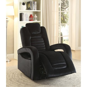 59583 BLACK POWER RECLINER