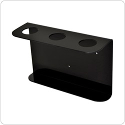 32oz Natural Boston Rd Dispenser Brackets, Black