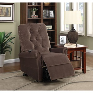 59241 CHOCO RECLINER W/POWER LIFT