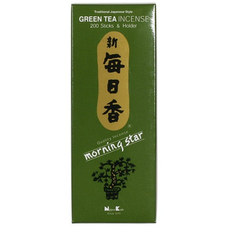 Morning Star Incense - Green Tea