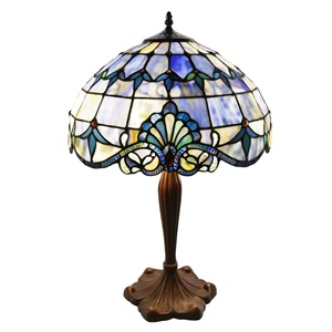"24"" H Stained Glass Allistar Table Lamp"