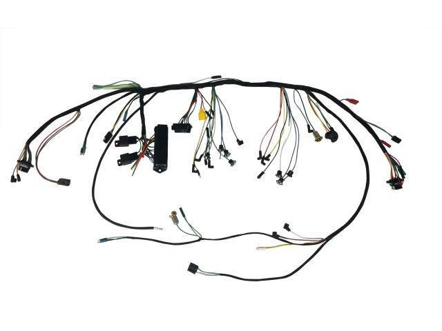 [SCHEMATICS_48ZD]  66 U/DASH HARNESS-PREM FUSEBOXC6ZZ-14401-PFB | 1966 Mustang Dash Wiring Diagram |  | Drake Automotive Group