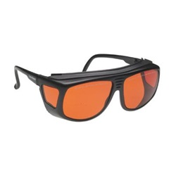 Angle Recession Glaucoma (ARG) Glasses - Small, Orange