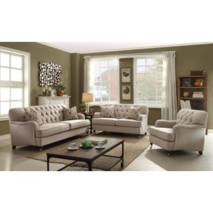 52581 LOVESEAT W/2 PILLOWS