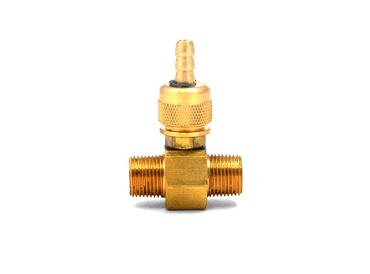 "MTM Hydro 3/8"" Adjustable Chemical Injector with 2.1mm Orifice"