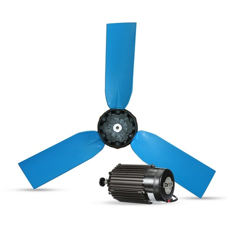 Hurricane 3600 replacement motor and fan
