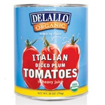 Tomatoes, Diced (Organic) - 28oz