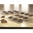 Chocolate Cookies on USA Pan Half Sheet Rack