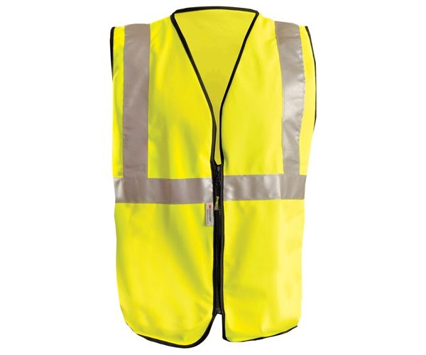 High Visibility Premium Solid Standard Safety Vests