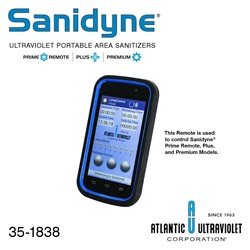 Remote Control for the Sanidyne® Plus