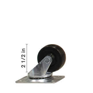 2 1/2 inch Swivel Wheel
