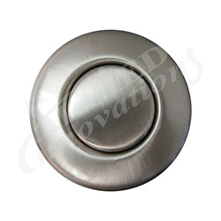 AIR BUTTON TRIM: #15 CLASSIC TOUCH, SATIN NICKEL LONG