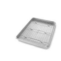 Jelly Roll Bakeable Nonstick Cooling Rack and Pan Set