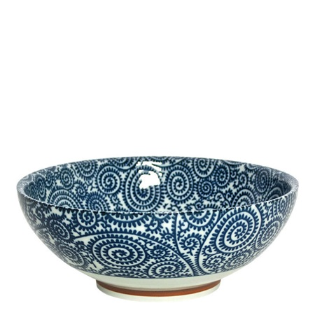"Blue Vines 8.25"" Bowl"