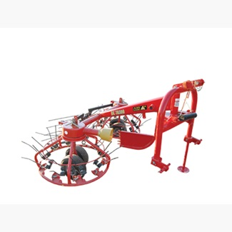 3PT Tedder Rake With Tandem Wheel