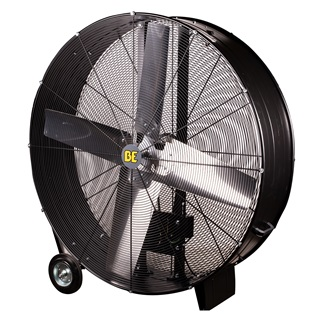 "48"" Belt Drive Drum Fan"