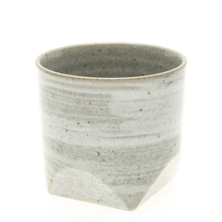 Teacup Faceted Grey
