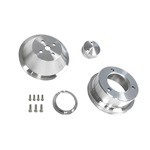 65-69 289-302 Billet Pulley Kit Single Groove